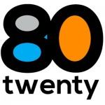 80Twenty logo